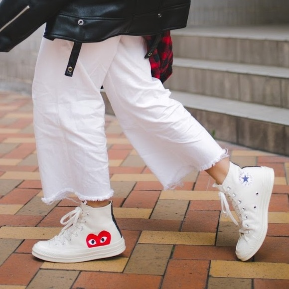 b1be9e3c0220 Converse Shoes - CONVERSE x Comme des Garçons PLAY Heart Sneakers
